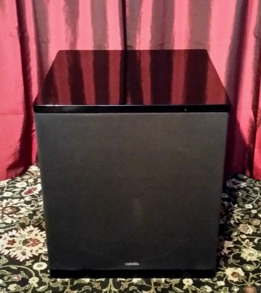 Vintage Definitive Technology Powerfield 1500 Powered Subwoofer 250 Watts