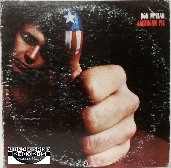 Don McLean American Pie First Year Pressing 1971 US United Artists Records UAS-5535 Vintage Vinyl LP Record Album