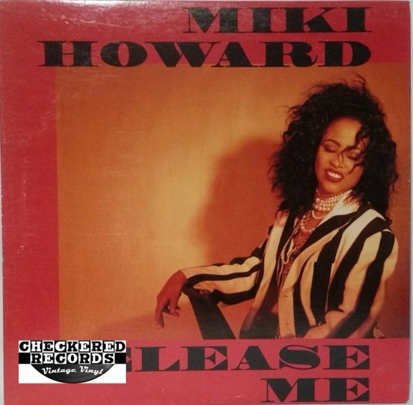 """Vintage Miki Howard Release Me 12"""" Promo First Year Pressing 1992 US Giant Records PRO-A-5824 Vintage Vinyl LP Record Album"""
