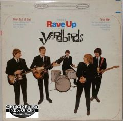 Vintage The Yardbirds Having A Rave Up With The Yardbirds First Year Pressing 1965 US Epic ‎BN 26177 Vintage Vinyl LP Record Album