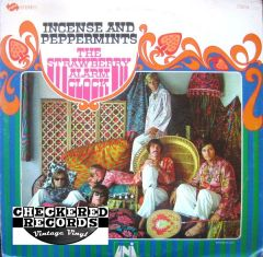 Vintage The Strawberry Alarm Clock Incense And Peppermints First Year Pressing 1967 US UNI Records 73014 Vintage Vinyl LP Record Album