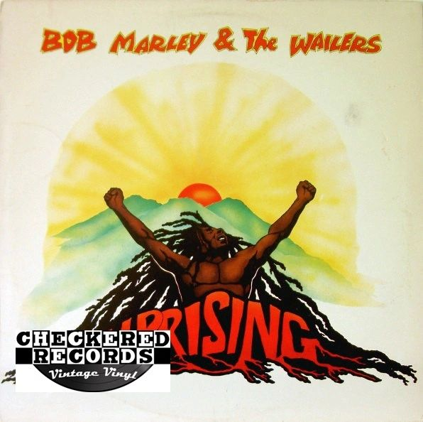 Bob Marley & The Wailers ‎Uprising 1981 US Island Records ‎ILPS 9596 Vintage Vinyl Record Album