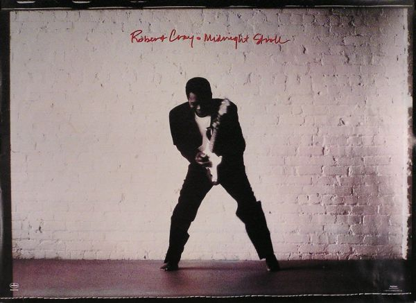 Robert Cray 1990 Midnight Stroll Record Store Promotional Poster