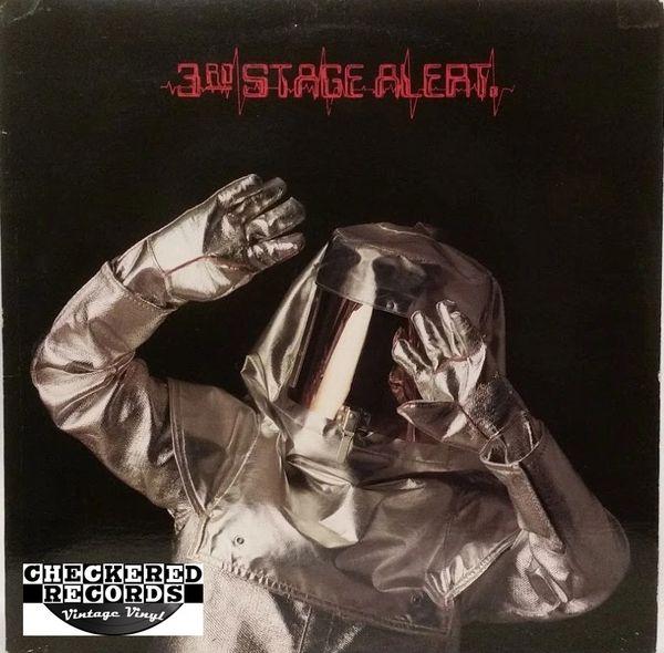 Vintage 3rd Stage Alert 3rd Stage Alert First Year Pressing 1984 US Metal Blade Records MBR 1015 Vintage Vinyl LP Record Album