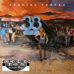 Vintage 38 Special Special Forces First Year Pressing 1982 US A&M Records SP-4888 Vintage Vinyl LP Record Album