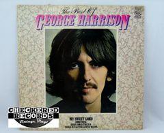 Vintage George Harrison The Best Of George Harrison UK Import RE Music For Pleasure MFP 50523 1981 NM Vintage Vinyl LP Record Album