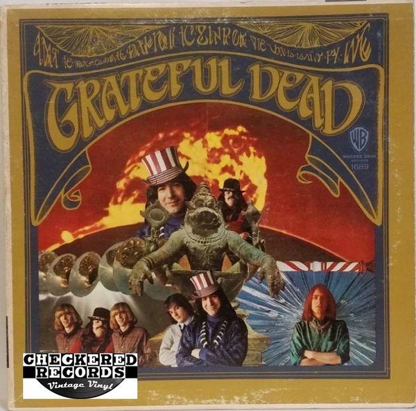 Vintage The Grateful Dead The Grateful Dead Monaural Gold Label First Year Pressing 1967 US Warner Bros. Records W 1689 Vintage Vinyl LP Record Album