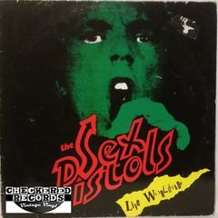 Vintage The Sex Pistols Live Worldwide First Year Pressing Belgium Import 1985 Konexion ‎KOMA 788017 Vintage Vinyl LP Record Album