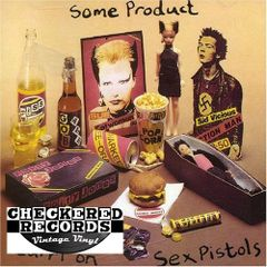 Vintage Sex Pistols ‎Some Product Carri On Sex Pistols First Year Pressing 1979 UK Import Virgin VR2 Vintage Vinyl LP Record Album