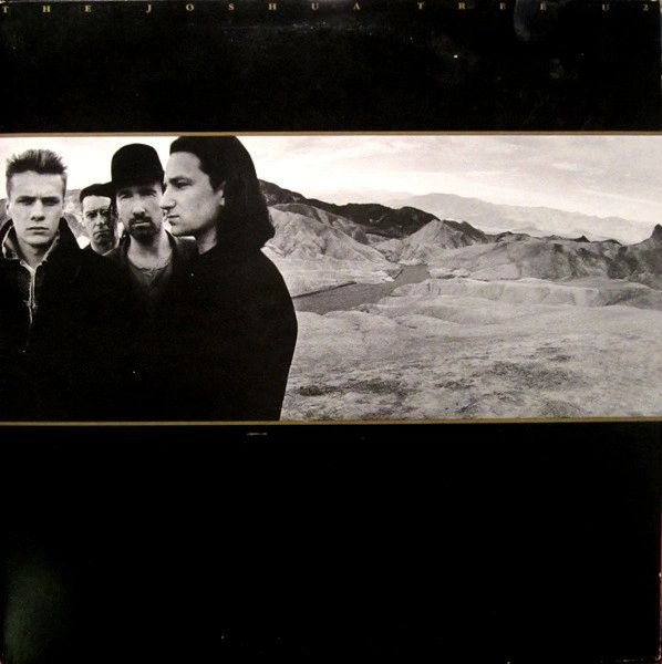 Vintage U2 ‎The Joshua Tree First Year Pressing 1987 US Island Records 90581-1 Vintage Vinyl LP Record Album
