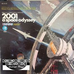 Vintage 2001 A Space Odyssey Soundtrack First Year Pressing 1968 US MGM Records S1E13 ST Vintage Vinyl LP Record Album
