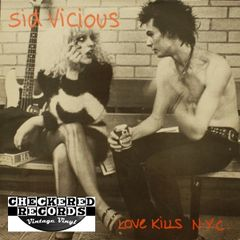 Vintage Sid Vicious ‎Love Kills N.Y.C First Year Pressing 1985 Import Konexion / More Chaos Records KOMA 788020 Vintage Vinyl LP Record