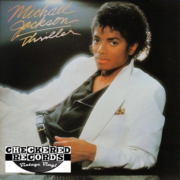 Michael Jackson Thriller First Year Pressing 1982 US Epic QE 38112 Vintage Vinyl Record Album