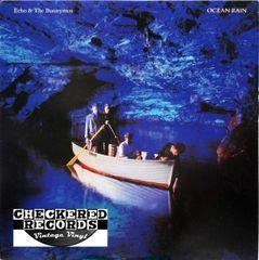 Vintage Echo & The Bunnymen Ocean Rain First Year Pressing 1984 US Sire 1-25084 Vintage Vinyl LP Record Album