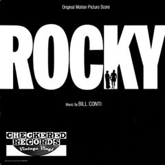 Vintage Bill Conti ‎Rocky Original Motion Picture Score First Year Pressing 1976 US United Artists Records ‎UA-LA693-G Vinyl LP Record Album