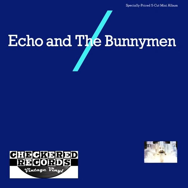 Vintage Echo And The Bunnymen Echo And The Bunnymen First Year Pressing 1983 US Sire 1-23987 Vinyl LP Record Album