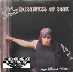 Vintage Little Steven And The Disciples Of Soul ‎Men Without Women First Year Pressing 1982 US EMI America ‎ST-17086 Vinyl LP Record Album