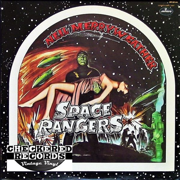 Vintage Neil Merryweather ‎Space Rangers First Year Pressing 1974 US Mercury ‎SRM-1-1007 Vinyl LP Record Album