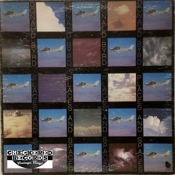 Vintage Donald Byrd Places And Spaces First Year Pressing 1975 US Blue Note BN-LA549-G Vinyl LP Record Album
