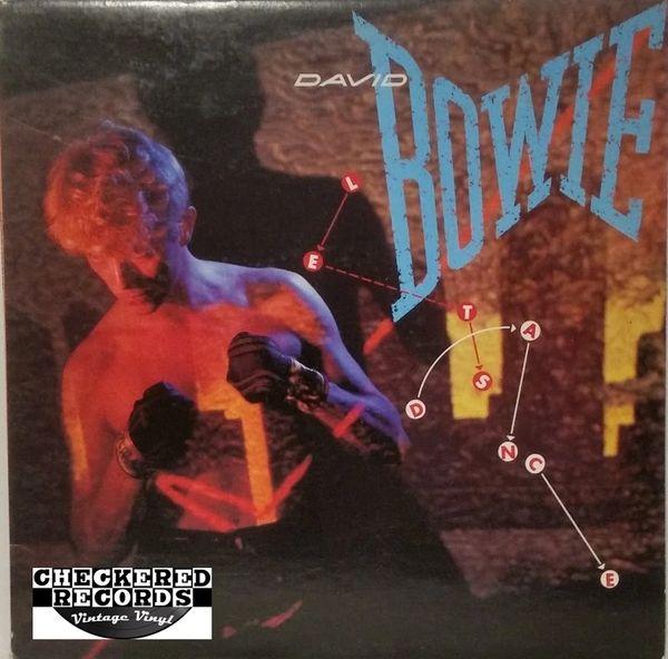 David Bowie Let's Dance First Year Pressing 1983 US EMI America SO 17093 Vintage Vinyl Record Album