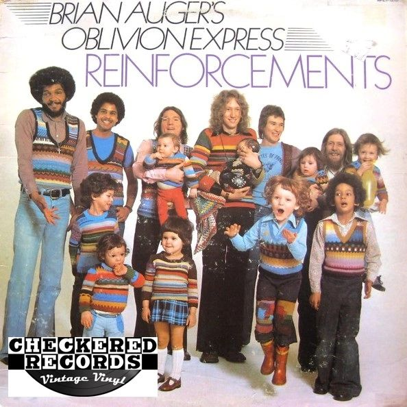 Vintage Brian Auger's Oblivion Express ‎Reinforcements First Year Pressing 1975 US RCA Victor ‎APL1-1210 Vinyl LP Record Album