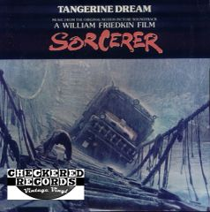 """Vintage Tangerine Dream Music From The Original Motion Picture Soundtrack """"Sorcerer"""" First Year Pressing 1977 US MCA Records MCA-2277 Vinyl LP Record Album"""