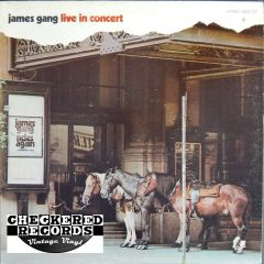 Vintage James Gang Live In Concert First Year Pressing 1971 US ABC Records ABCX 733 Vinyl LP Record Album