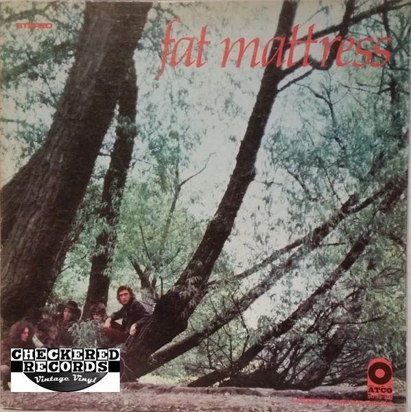 Vintage Fat Mattress Fat Mattress First Year Pressing 1969 US ATCO Records SD 33-309 Vinyl LP Record Album