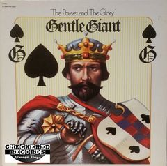 Vintage Gentle Giant The Power And The Glory 1979 US Capitol Records ‎SN-16044 Vinyl LP Record Album