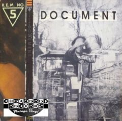 Vintage R.E.M. ‎Document First Year Pressing 1987 US I.R.S. Records IRS-42059 Vinyl LP Record Album