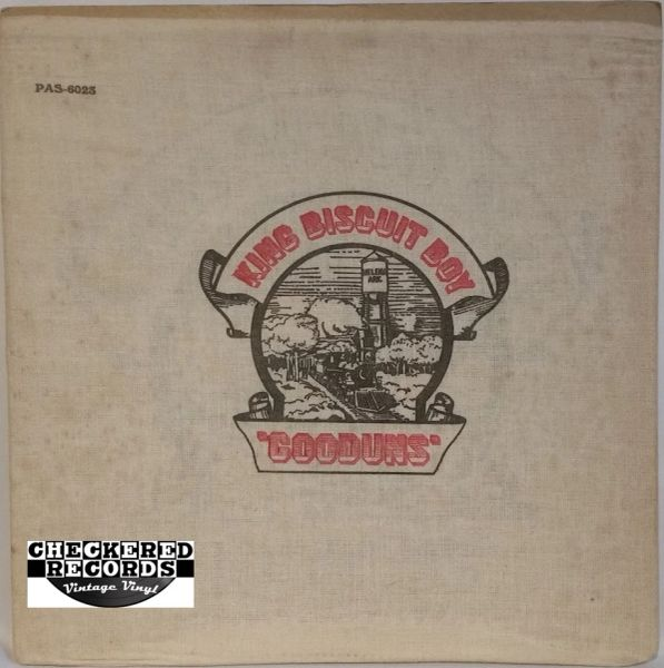 Vintage King Biscuit Boy ‎Gooduns First Year Pressing 1971 US Paramount Records ‎PAS-6023 Vinyl LP Record Album