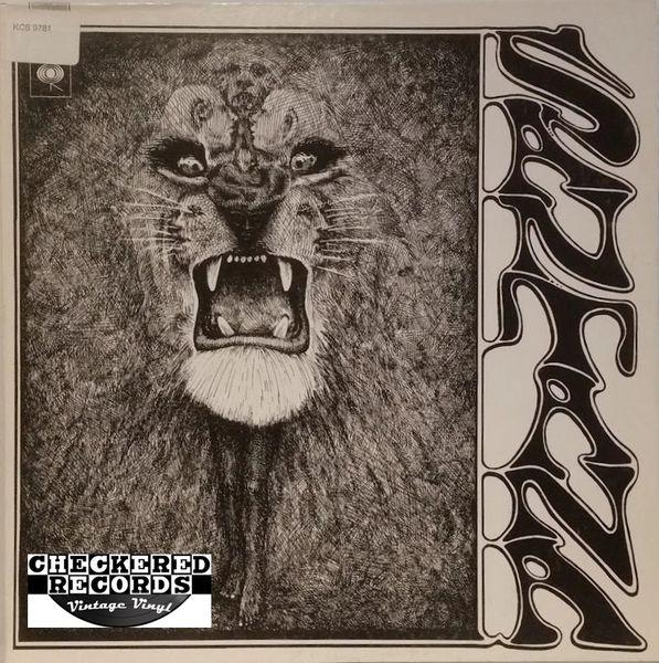 Santana Santana Self Titled First Year Pressing 1969 US Columbia CS 9781 Vintage Vinyl Record Album