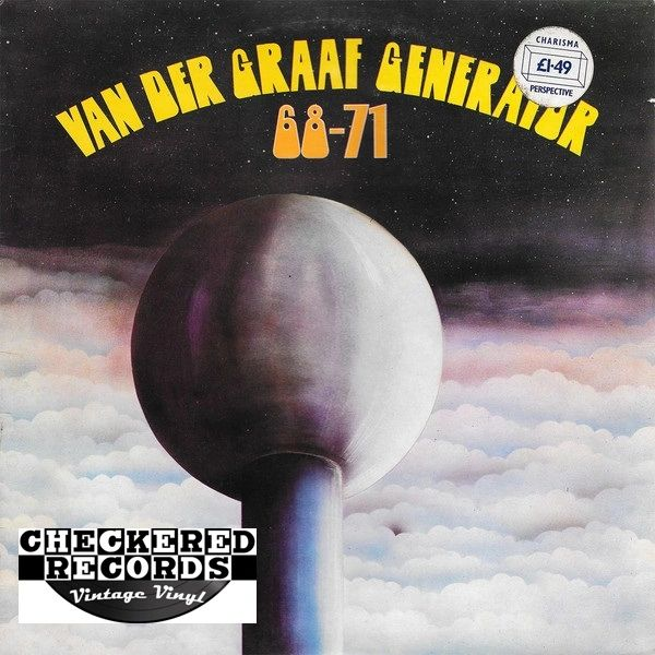Vintage Van Der Graaf Generator 68-71 First Year Pressing 1972 UK Import Charisma ‎CS 2 Vinyl LP Record Album