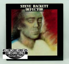Vintage Steve Hackett Defector Charisma CL-1-3103 1980 NM Vintage Vinyl LP Record Album