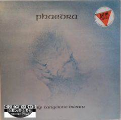 Vintage Tangerine Dream ‎Phaedra Jem Records UK Import 1976 UK Virgin ‎V 2010 Vinyl LP Record Album