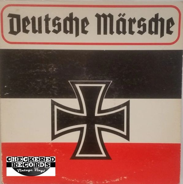 Vintage Deutsche Märsche 1981 US Communications Archives, Inc. ‎CAM-377 Vinyl LP Record Album