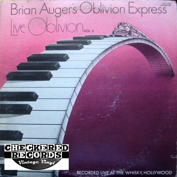 Vintage Brian Auger's Oblivion Express Live Oblivion Vol. 2 First Year Pressing 1976 US RCA CPL2-1230 Vinyl LP Record Album
