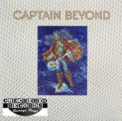 Vintage Captain Beyond Captain Beyond 3D Cover First Pressing 1972 US Capricorn Records CP 0105 Vinyl LP Record Album