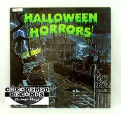 Vintage J. Robert Elliott The Sounds Of Halloween A&M SP 3152 1977 VG+ Vintage Vinyl LP Record Album