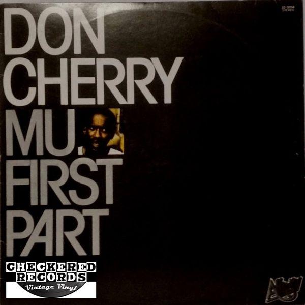 Vintage Don Cherry Mu First Part 1979 Spain Affinity 32-2054 Vinyl LP Record Album