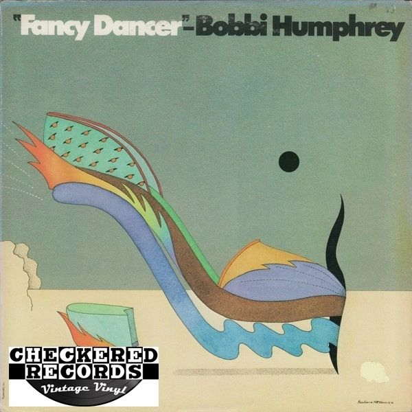 Vintage Bobbi Humphrey Fancy Dancer First Year Pressing 1975 US Blue Note ‎BN-LA550-G Vinyl LP Record Album