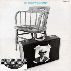 Vintage Johnny Winter ‎The Johnny Winter Story First Year Pressing 1969 US GRT ‎Records GRT 10010 Vinyl LP Record Album