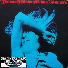 Johnny Winter ‎Saints & Sinners First Year Pressing 1974 US Columbia ‎KC 32715 Vintage Vinyl Record Album