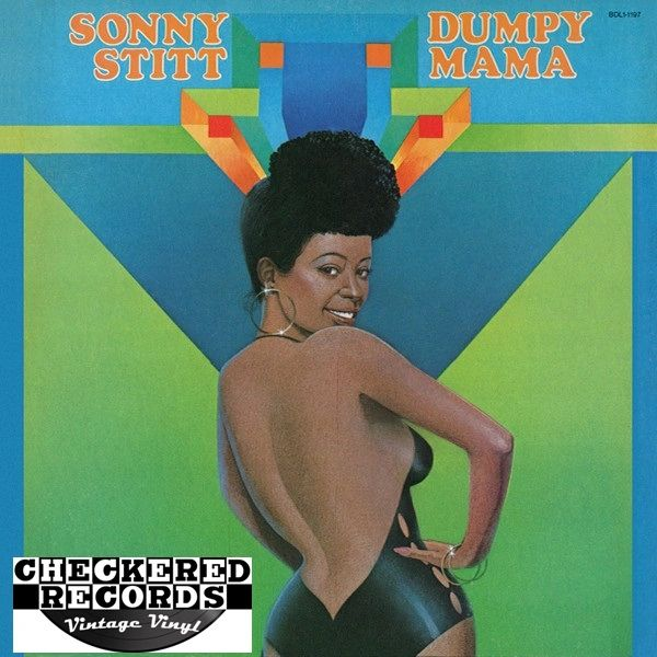 Sonny Stitt ‎Dumpy Mama First Year Pressing 1975 US Flying Dutchman ‎BDL1-1197 Vinyl Vinyl Record Album
