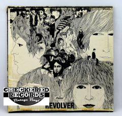 Vintage The Beatles Revolver With Insert Capitol Apple ST 2576 1971 VG+ Vintage Vinyl LP Record Album