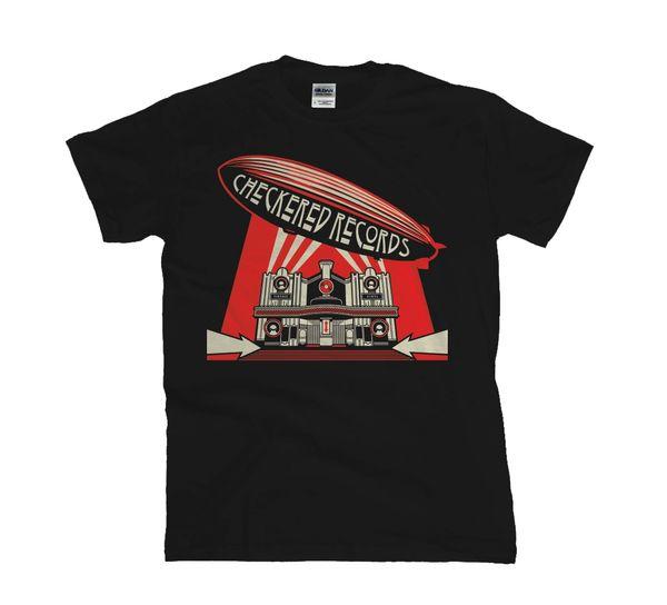 Checkered Records World Tour Concert Tour T-Shirt