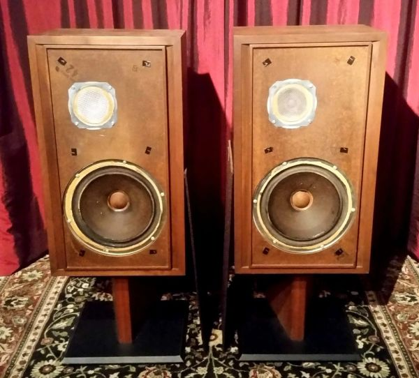 Vintage 1972 KHL Model Twenty Three 23 Two Way Floor Standing Speakers Local Pick Up Aurora IL 60503