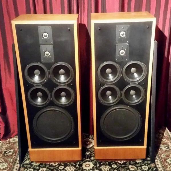Vintage Polk Audio SDA-1B Floor Standing Speakers Local Pick Up Aurora IL 60503