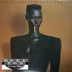 Vintage Grace Jones Nightclubbing First Year Pressing 1981 US Island Records ILPS 9624 Vinyl LP Record Album