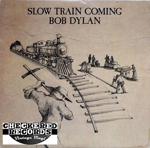 Bob Dylan Slow Train Coming First Year Pressing 1979 US Columbia FC 36120 Vintage Vinyl Record Album